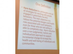 November 2014, Harm Reduction Conference, Honolulu