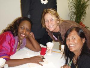 Lorenn Walker and Immaclee Ilibaqiza and Vi Jones-Meduskey